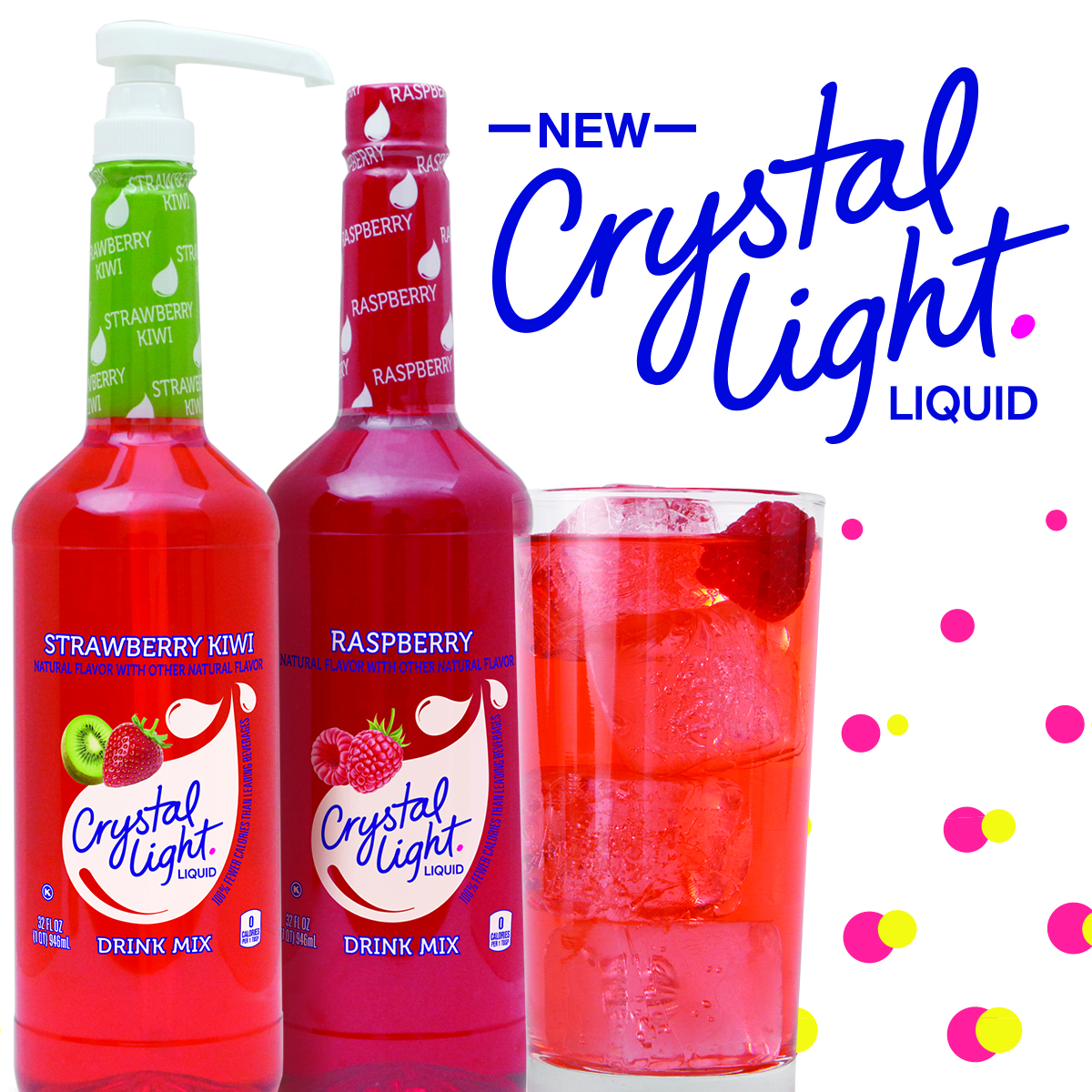 Marvelous New Crystal Light Liquid Concentrate Delivers A Refreshing, Sugar Free,  Low Calorie Drink With Easeu2014simply Pump, Fill And Serve Your Way To New  Beverage ... Images