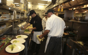 Kitchen staff, Castlewood Country Club