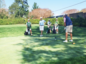 Farmington CC's new junior caddie program, staffed by teenagers of member families, has been a win-win for the adult players among its membership and for the juniors themselves who were trained to help provide the service.