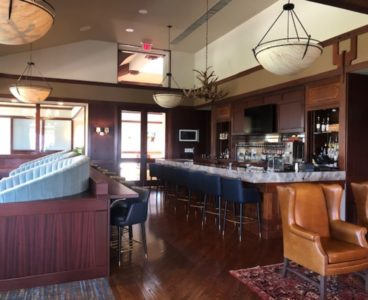 bar view of lounge room