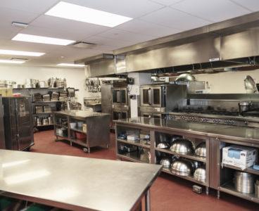 back of kitchen