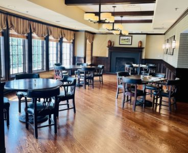 indoor dining seating tables