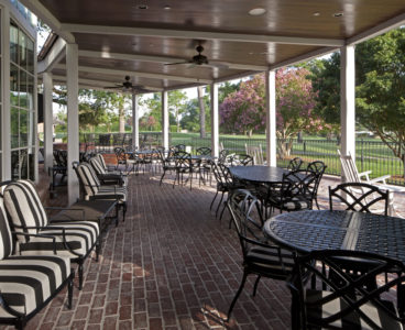 outdoor patio terrace seating