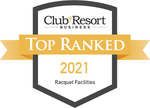 Top Ranked Private Club and Resort Racquet Facilities